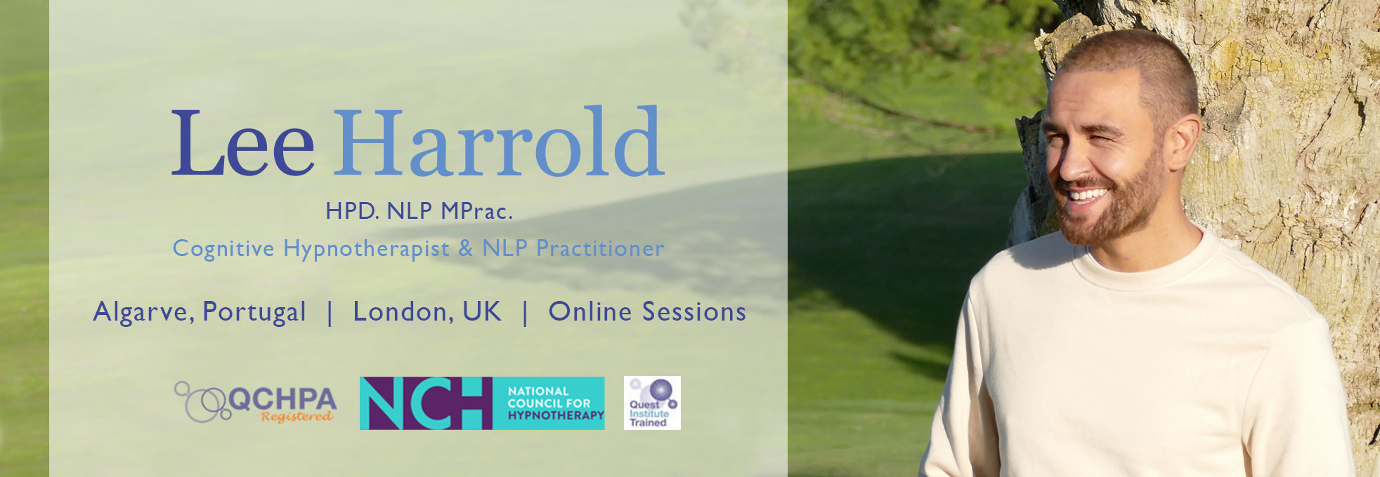 Lee Harrold Hypnotherapist